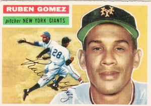 1956 Topps Ruben Gomez