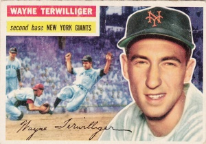 1956 Topps Wayne Terwilliger