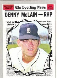 1970 Topps Denny McLain AS
