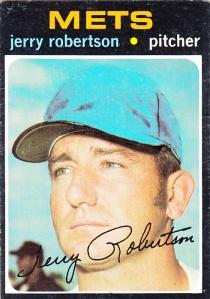 1971 Topps Jerry Robertson