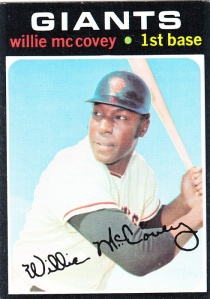 1971 Topps Willie McCovey