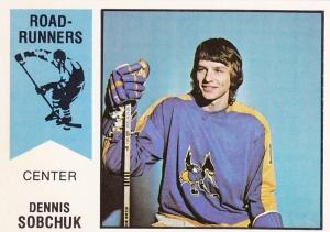 1974-75 OPC WHA Dennis Sobchuk