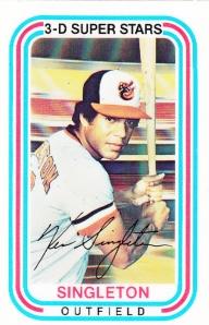 1976 Kelloggs Ken Singleton