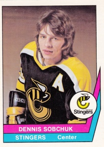 1977-78 OPC WHA Dennis Sobchuk