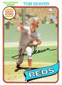 1980 Burger King Tom Seaver