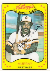 1981 Kelloggs Eddie Murray