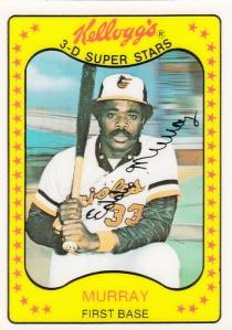 1981 Kelloggs Eddie Murray