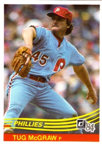 1984 Donruss Tug McGraw