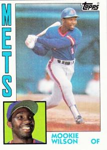 1984 Topps Mookie Wilson