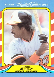 1987 Fleer Limited Edition Eddie Murray