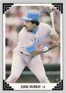 1991 Leaf Eddie Murray