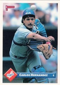 1993 Donruss Carlos Hernandez
