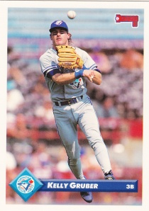 1993 Donruss Kelly Gruber