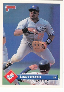 1993 Donruss Lenny Harris