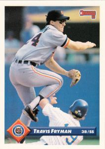 1993 Donruss Travis Fryman