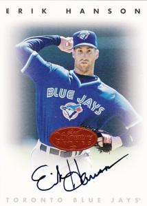 1996 Leaf Signature Series Erik Hanson