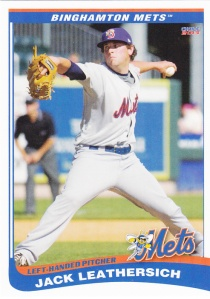 2013 Choice B-Mets Jack Leathersich