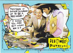 2013 Topps 75th Pee Wee's Playhouse