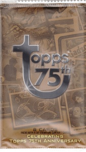 2013 Topps 75th Wrapper