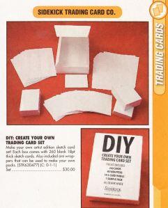 DIY Card Set solicitation