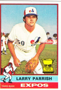 1976 Topps Larry Parrish