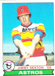 1979 Topps Jimmy Sexton