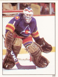 1982-83 Topps Hockey Sticker Glenn Resch