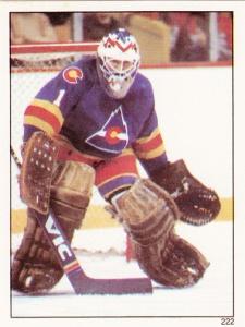 1982-83 Topps Hockey Sticker Glenn Resch