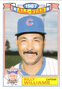 1988 Topps All-Star Glossy Billy Williams