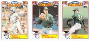 1990 Topps All-Star Glossy Sierra Steinbach Stewart