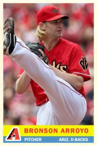 2013-14 TSR Hot Stove #18 - Bronson Arroyo