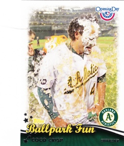 2013 Topps Opening Day Ballpark Fun Coco Crisp