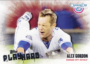 2013 Topps Opening Day Play Hard Alex Gordon