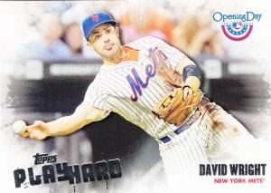 2013 Topps Opening Day Play Hard David Wright
