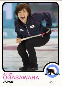 2014 TSR Curling - Ayumi Ogasawara