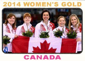 2014 TSR Curling - Canadian Women's Team