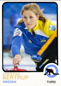 2014 TSR Curling - Christina Bertrup