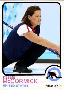 2014 TSR Curling - Debbie McCormick