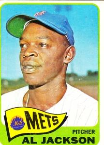 1965 Topps Al Jackson