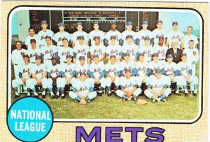 1968 Topps Mets Team