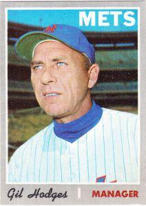1970 Topps Gil Hodges