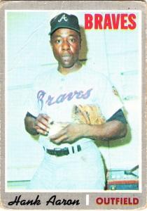 1970 Topps Hank Aaron