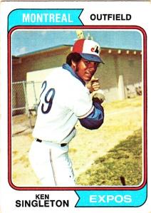 1974 Topps Ken Singleton