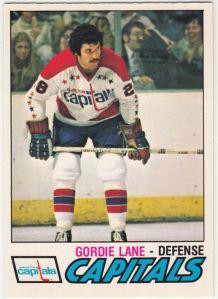 1977-78 OPC Gordie Lane