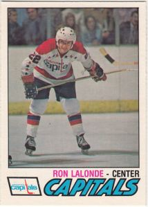 1977-78 OPC Ron Lalonde
