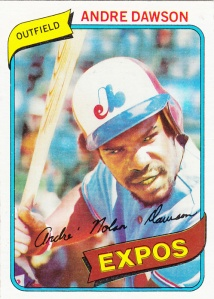 1980 Topps Andre Dawson