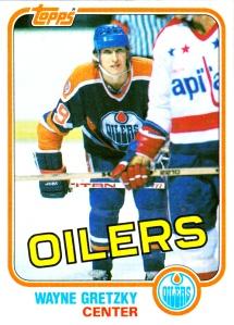 1981-82 Topps Wayne Gretzky