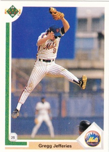 1991 Upper Deck Gregg Jefferies
