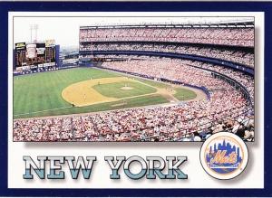 1994 Score New York Mets - Shea