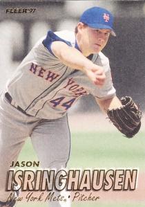 1997 Fleer Jason Isringhausen